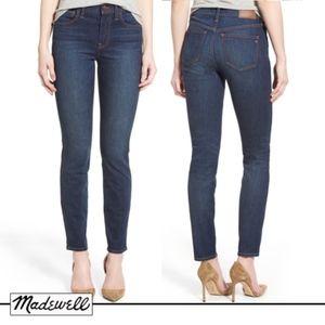 Madewell 'High Riser' Skinny Jeans (Surfside Wash)